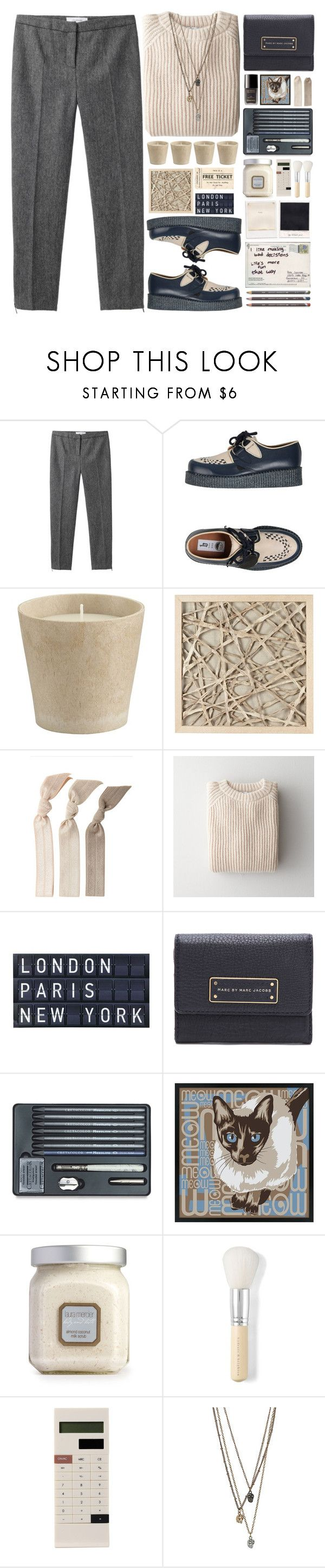 """""""Spare change"""" by nobodyspecial-218 ❤ liked on Polyvore featuring Grey Line By Hussein Chalayan, Underground, Crate and Barrel, WALL, Emi-Jay, Babe, Tela Beauty Organics, Marc by Marc Jacobs, Chanel and Universal Lighting and Decor"""