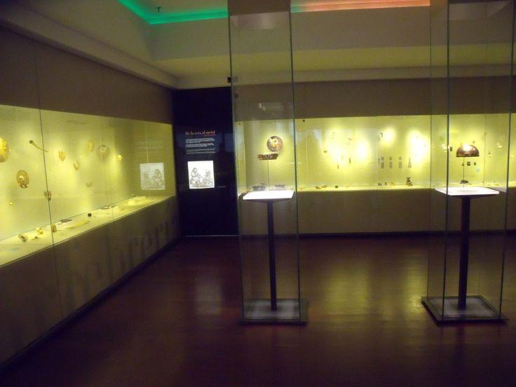 El Museo del Oro in Bogotá, Colombia