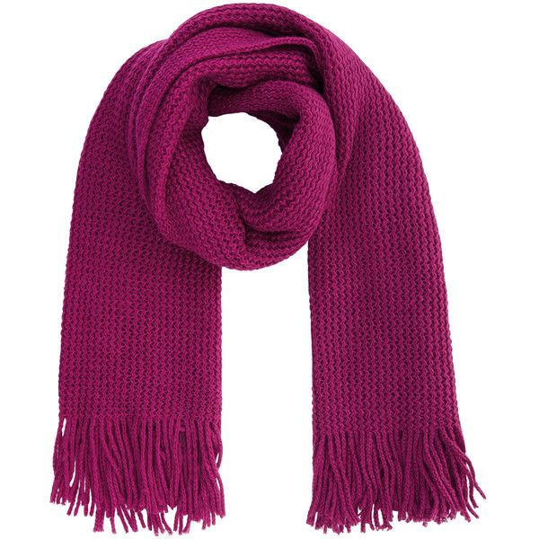 Accessorize Opp Plain Knitted Blanket Scarf (£23) ❤ liked on Polyvore featuring accessories, scarves, accessorize scarves, blanket scarf, knit scarves, knit shawl and tassel scarves