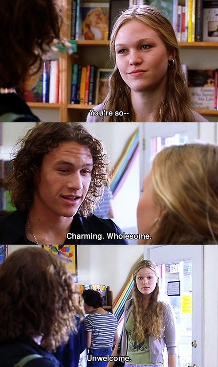 10 Things I Hate About You (1999) Julia Stiles and Heath Ledger