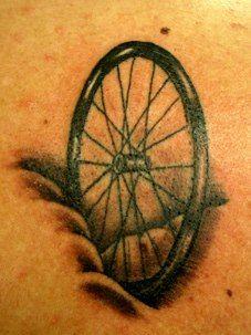 Rueda,tattoo
