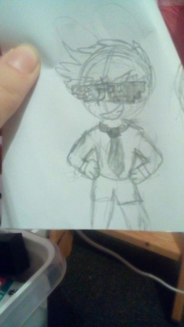 Found a drawing of rodger I did ages ago XD