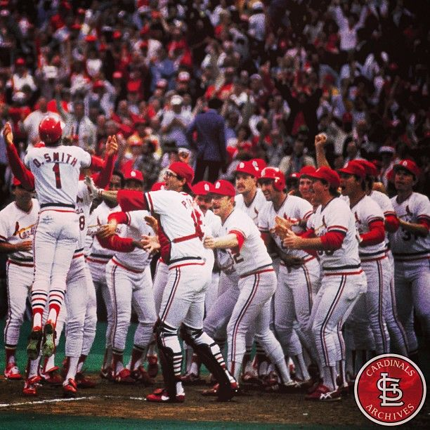 """Smith corks one into right down the line. It may go! Go crazy, folks! Go crazy! It's a home run, and the Cardinals have won the game by the score of 3-2 on a home run by the Wizard!"" On October 14,1985, the Cardinals moved within one victory of the NL pennant when Ozzie Smith hit a walk-off homer in the ninth inning of Game Five to defeat the Dodgers 3-2. Jack Buck immortalized the moment with this famous call."