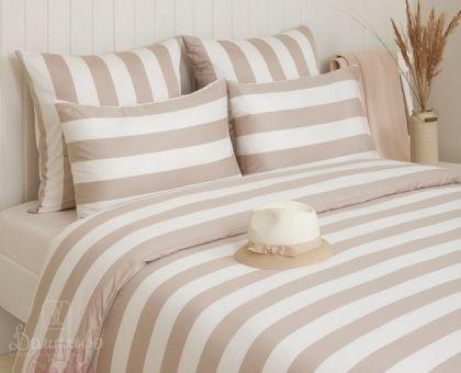 Купить постельное белье WEEKEND бежевое 1,5-сп от производителя Bovi (Португалия)