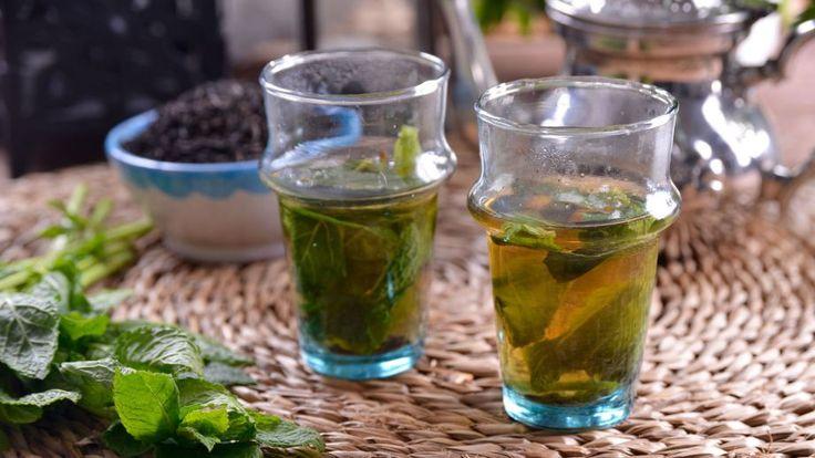 Marruecos. Té moruno de menta (Atay Dial Nana) - Najat Kaanache - Receta - Canal Cocina
