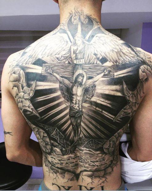 религиозные татуировки