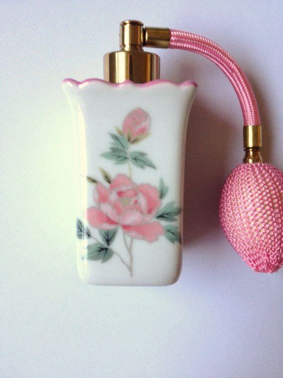 Beautiful Vintage Perfume Atomizer Made In Japan