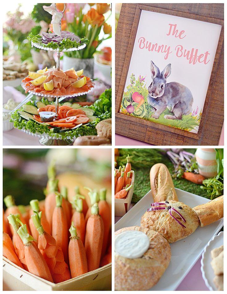 Ariellas Bunny Themed 4th Birthday Party