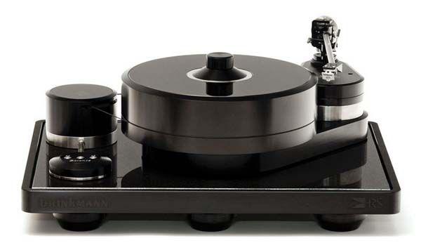Brinkmann Balance Turntable. An Audiophile delight.