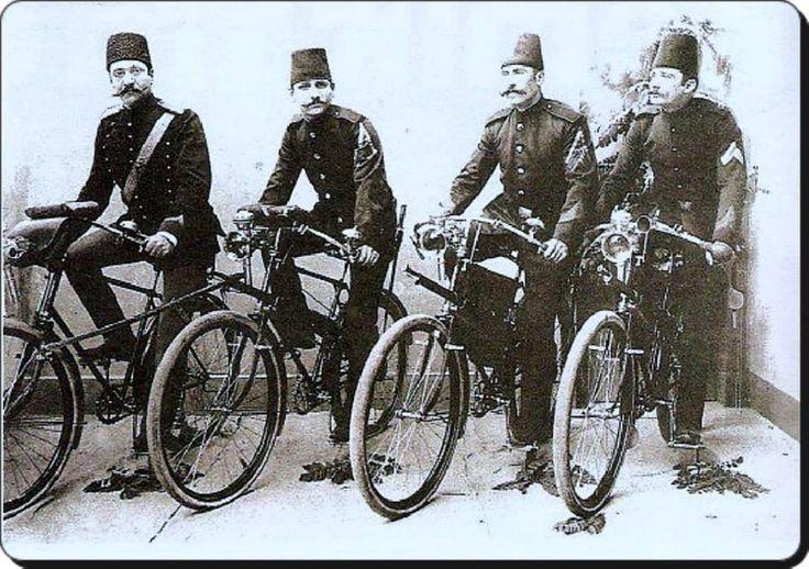 Osmanlı da Bisikletli Zaptiyeler