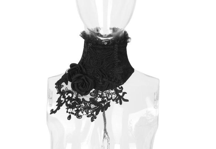 Gothic Halskorsett Briar Rose
