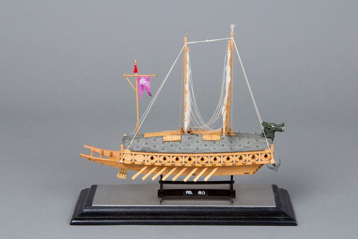 2014 Korea Turtle Ship 1/96 By Masami Sekiguchi  ~START~