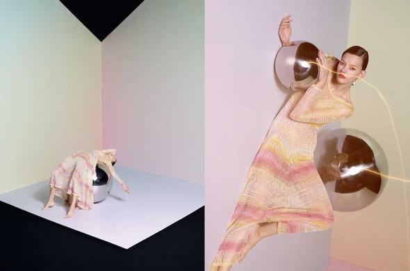 Missoni Summer 2015 campaign video starring Amanda Murphy