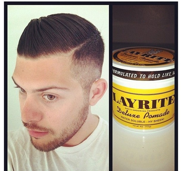 how to use layrite hair wax