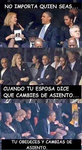 memes en español - Cuando tu esposa dice que cambies de asiento tu obedeces