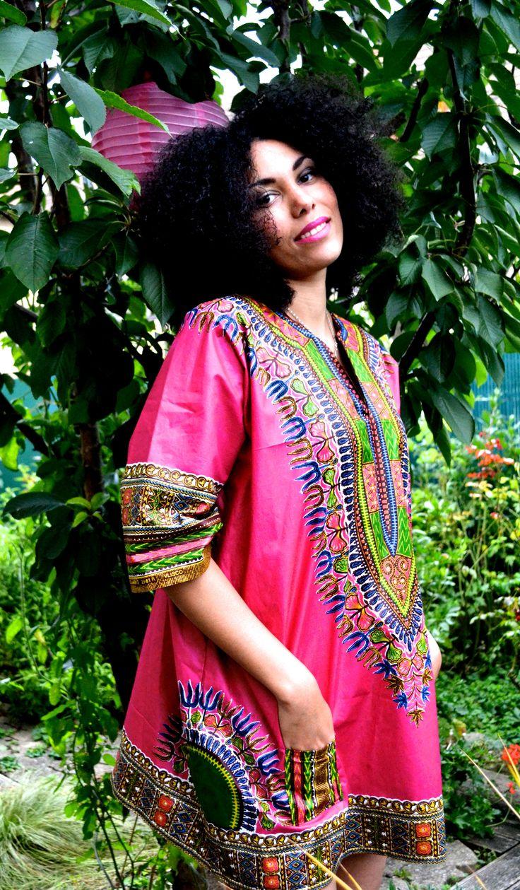 Adis Abeba / angelina dress/ Dashiki dress