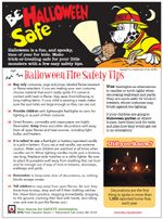 #Halloween should be a fun and safe holiday! While decorating your front yard, remember these important #safety tips!