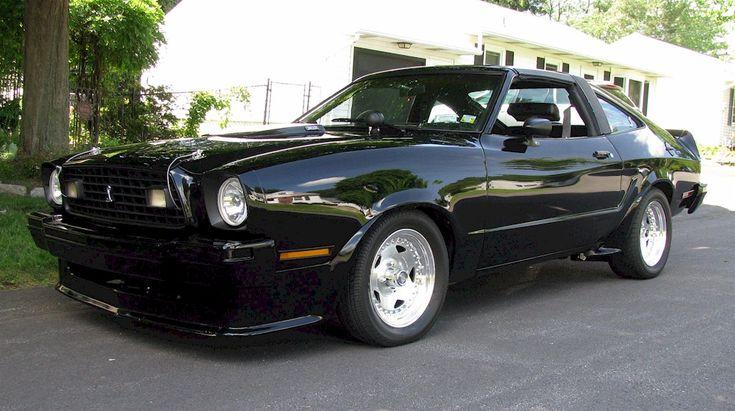 black 1978 ford mustang ii king cobra hatchback mobile cars pinterest. Black Bedroom Furniture Sets. Home Design Ideas
