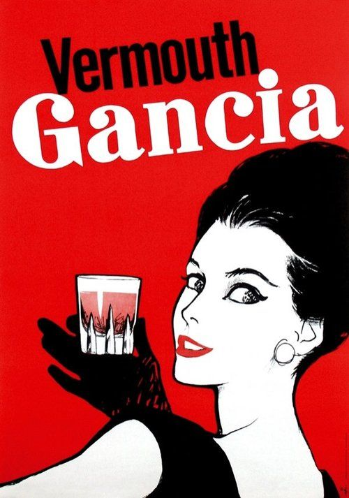 rené muhlemann - vermouth gancia, 1966