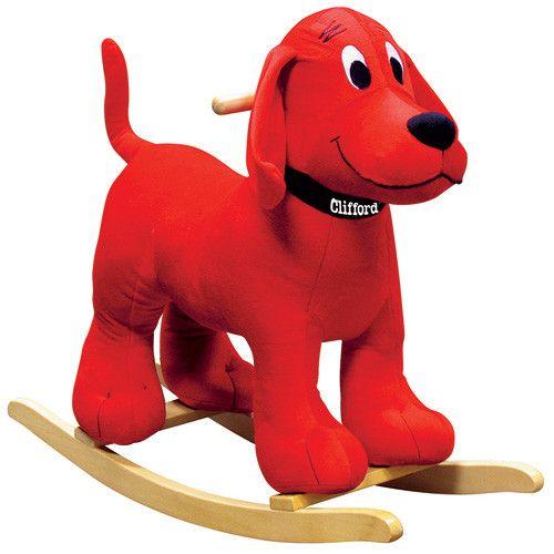 Charm Clifford the Big Red Dog Rocker | Girls Birthdays ...