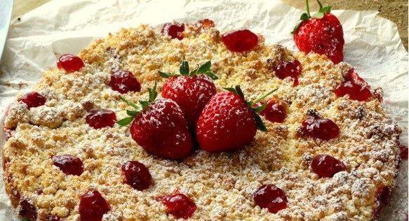 Strawberry crumble - I Love Italian Food