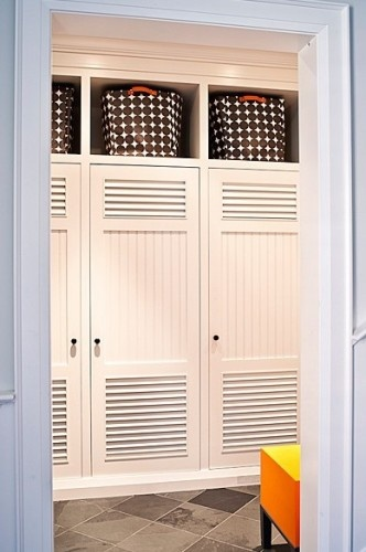 95 best images about built in bookcases on pinterest for Wood lockers with doors