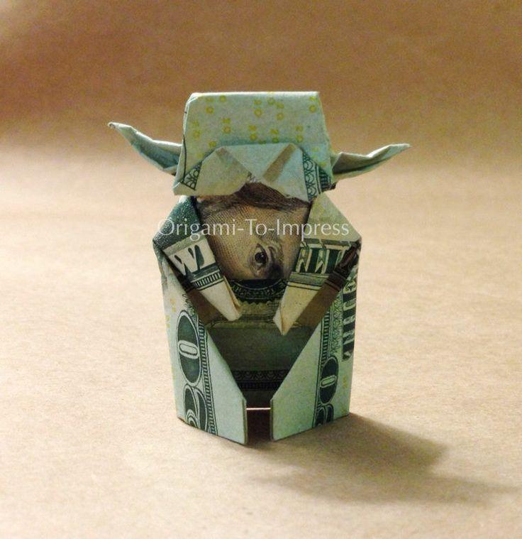 origami 20 dollar bill