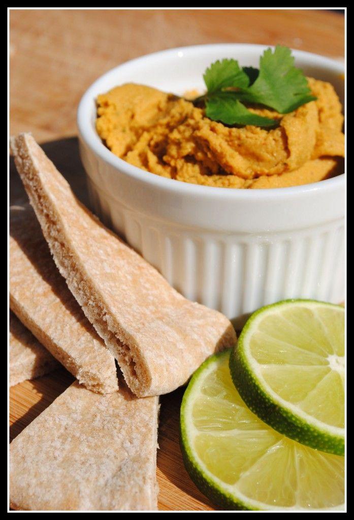Wth?! Thai Peanut Pumpkin Hummus. I want to try this!