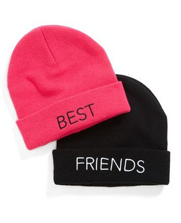 best friend beanies for teens http://rstyle.me/n/ub67ipdpe