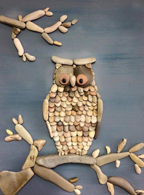 My Owl Barn: Stone Art by Stefano Furlani:
