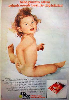 OĞUZ TOPOĞLU : selpak çocuk bezi 1975 nostaljik eski reklamlar