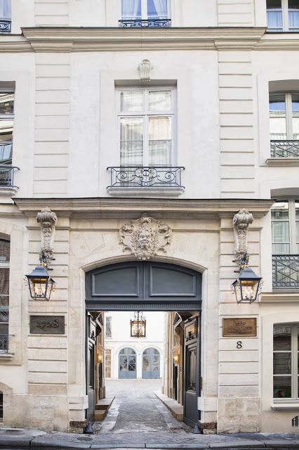 Marquis Faubourg Saint-Honoré hotel in Paris. Set in the 8th arrondissement means it's close to all the sights and the fact that it was designed by Michele Bonan, of JK Place Hotel fame, means it's beyond chic.