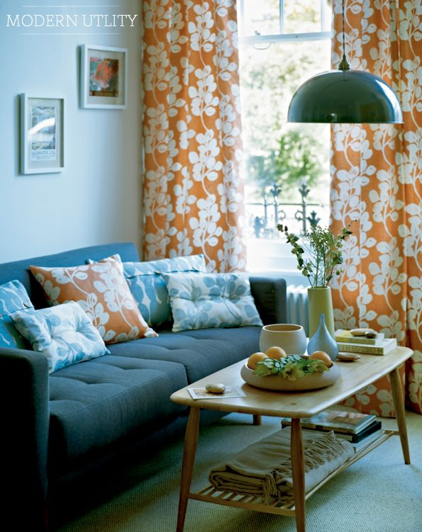 140 best decorating with orange turquoise images on pinterest homes for the home and colors John lewis home design ideas
