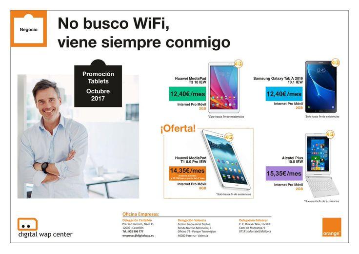 #NEGOCIO En @orange_es  tenemos las mejores ofertas de tablets para tu negocio desde 12,40€/mes ▶️ https://goo.gl/4eLXrd