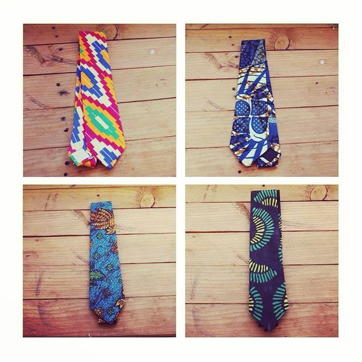 De nieuwe feest #stropdassen zijn binnen! Kleurrijk, handgemaakt en 100% uit Tanzania