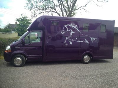 Very unique 2009 Renault master 3.5t horse box just listed: http://www.trucklocator.co.uk/view-truck-for-sale.php?van=126191&buy=Renault-Master