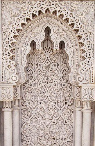 details....Moroccan plaster carving gebs