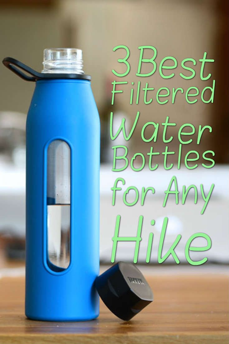 Sawyer is well-known water filtration brand so it's no surprise that their filtration bottle is fairly popular. Those who are only going to spend a few hours outdoors or people who are doing a lot of traveling around North America and want the protection of water filtration will be happy with this bottle.