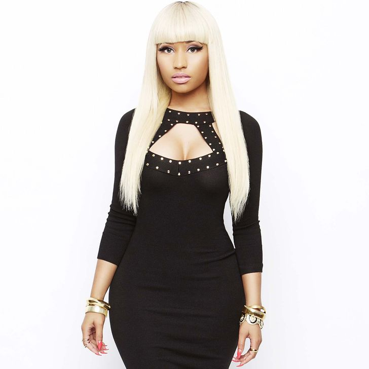 Nicki Minaj's first commercial for her line at Kmart, features her modeling numerous pieces from the new collection.  The commercial ends with Nicki walking down the red carpet in one of her pieces - showing that even low priced items can be high fashion.