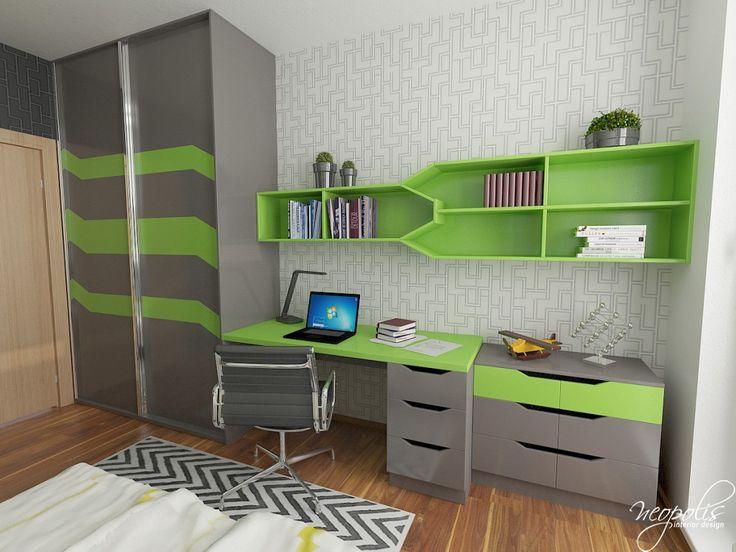 Chlapčenská izba - pracovný priestor