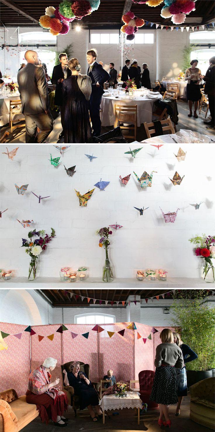 Origami birds   {Nick Tucker Photography}