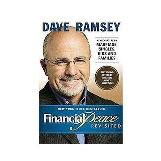 I have already started to implement his baby steps.  Need to get this book as well.  Financial Peace : Revisited by Dave Ramsey #ad #daveramsey #babysteps