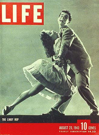 Lindy Hop on the cover of LIFE magazine