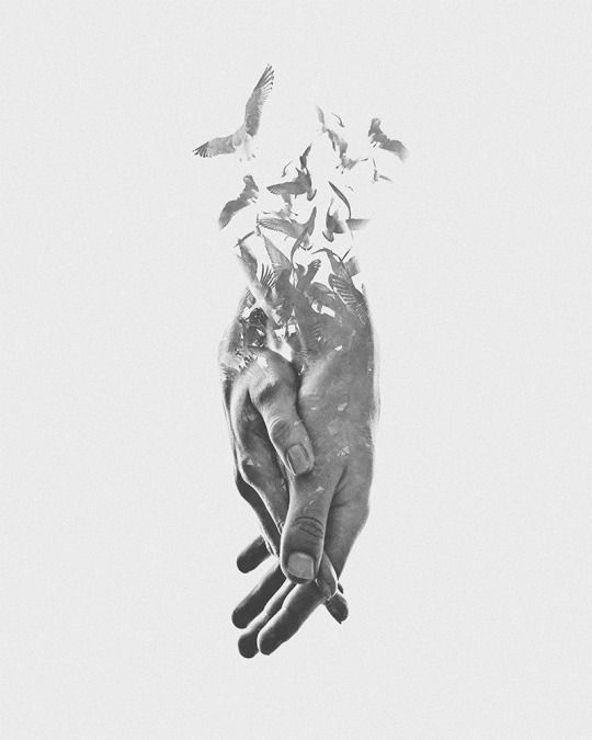 Multiple Exposure #photomontage | hands - (Aneta Ivanova)                                                       …