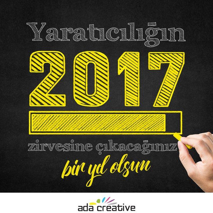 Yeni yılda her şeyin en güzeli sizinle olsun, mutlu yıllar #adacreative #adaajans #reklam #mutluyillar #2018yeniyil #yilbasi