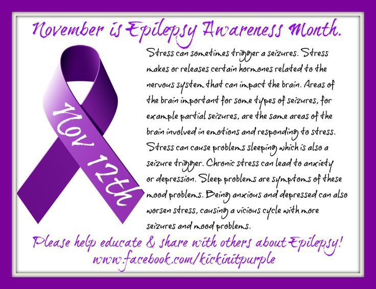 November is Epilepsy Awareness Month...because it matters. Here is our fact of the day for November 12th. Everyday there will be a new fact. Please ✓Like ✓Comment ✓Share to help spread Epilepsy Awareness .#epilepsy #epilepsyawareness