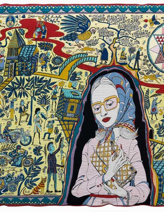 Grayson Perry: The Walthamstow Tapestry