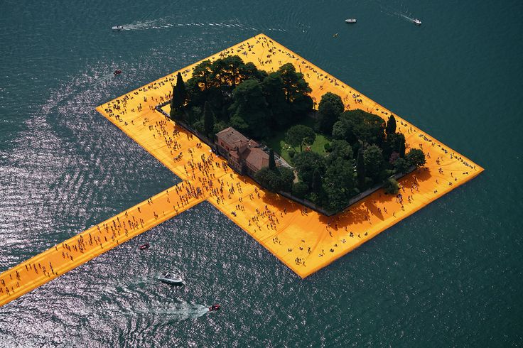 completed — The Floating Piers
