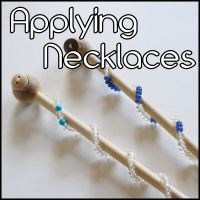 GEMFormulas :: Gemstone necklaces can be applied in many ways other than wearing them including wrapped to make gemstone wands!