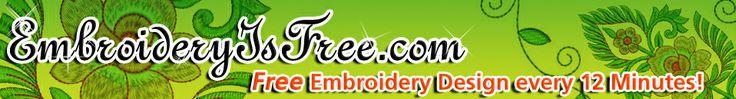 EmbroideryIsFree.com